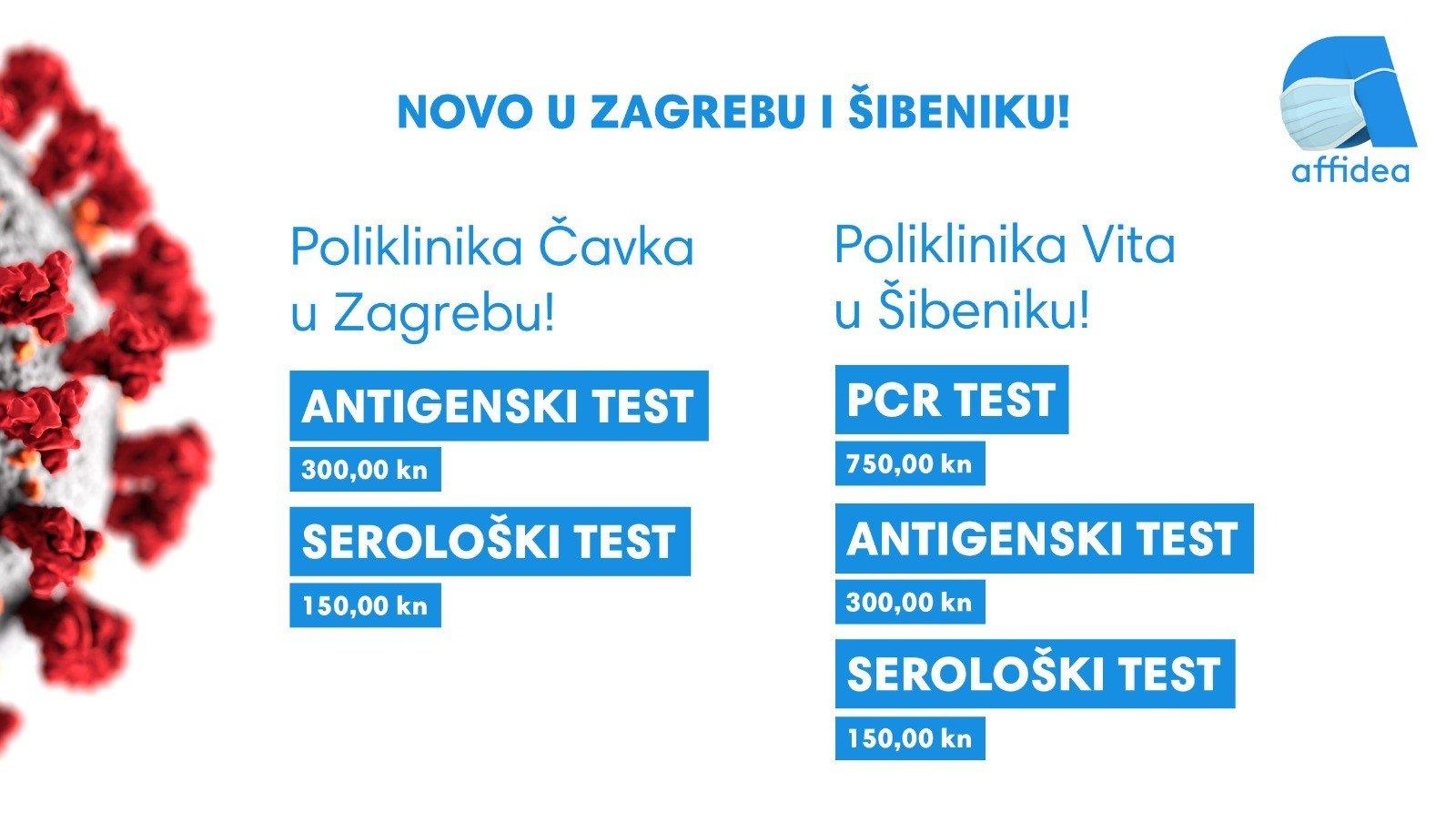 Covid 19 testiranje