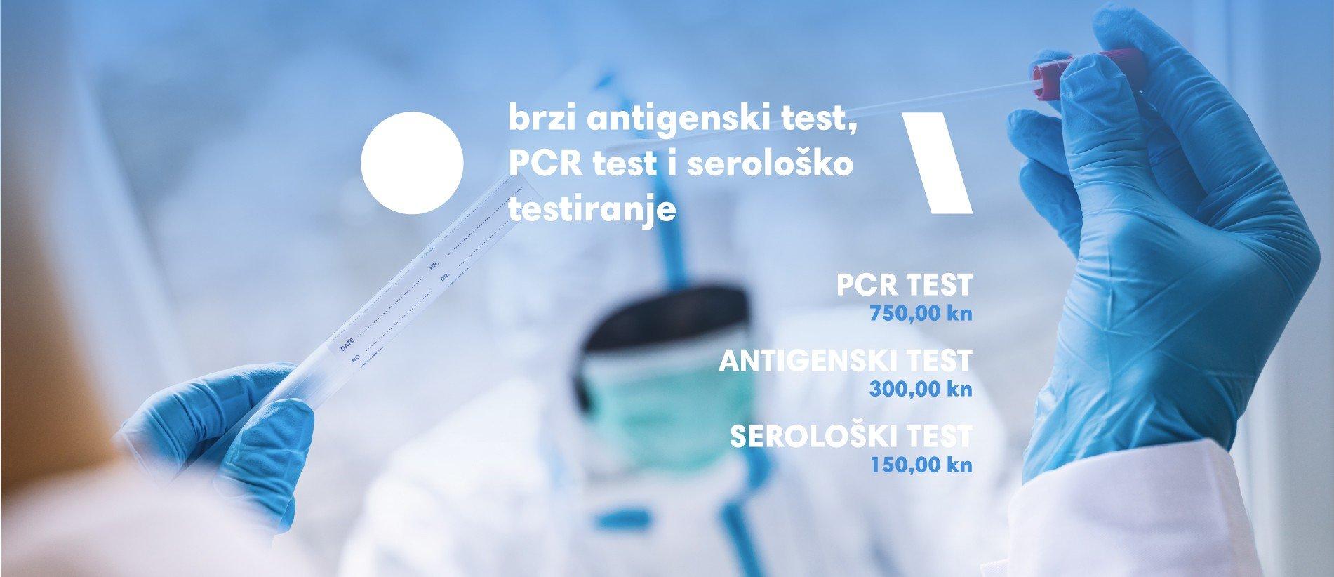 PCR serološki test i brzi antigenski